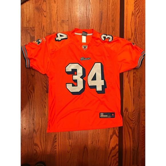 Ricky Williams Reebok Miami Dolphin NFL jersey d95cb3886